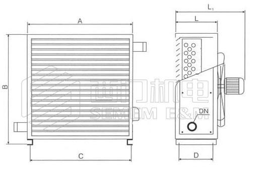 XQ型蒸汽暖风机