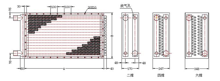 GLII工业散热器参数